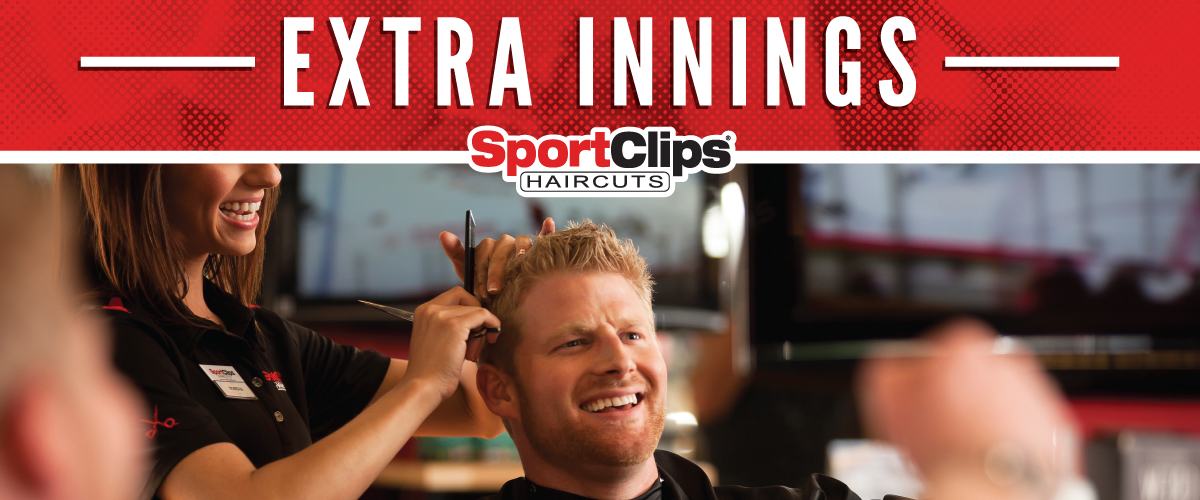 The Sport Clips Haircuts of Murfreesboro Extra Innings Offerings