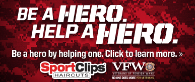 Sport Clips Haircuts of Murfreesboro​ Help a Hero Campaign
